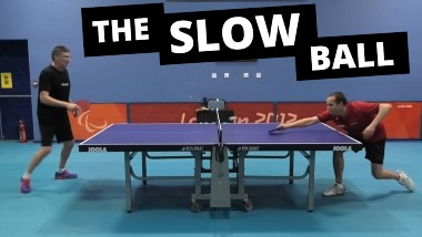The Slow Ball – A useful tactic to disrupt the rhythm of your opponent