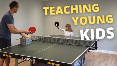How to teach young kids to play table tennis